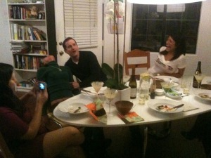 uncouth gourmands dinner party