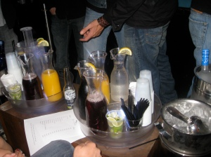 key club bottle service
