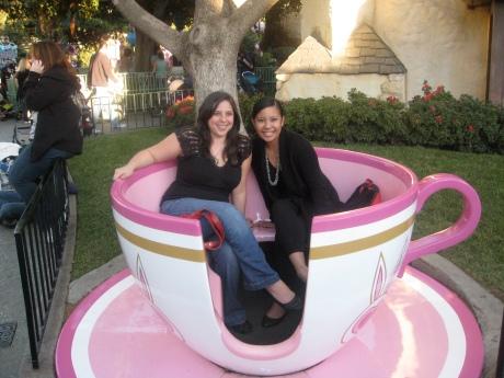 Teacup at Disneyland