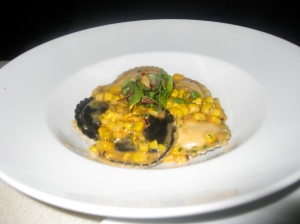 shrimp & lobster ravioli