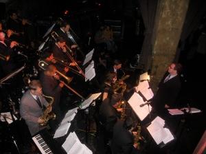 big band at the Edison